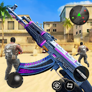 Gun Strike: Free Offline 3D Shooting Games