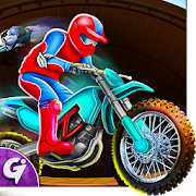 Merge Bike Click & idle Tap Tycoon - Well of Death