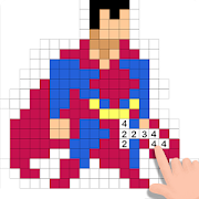 Pixel Box - Color by Number & Art Pages