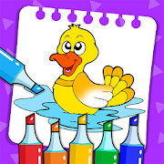 Toddler Coloring Book & Kids Painting Games