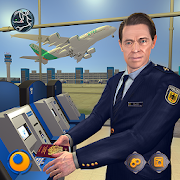 Virtual City Police Airport Manager Family Games