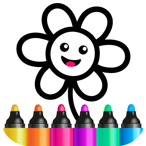 Bini Toddler Drawing Apps! Coloring Games for Kids