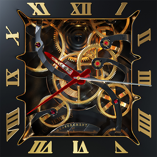 Tourbillon 3D Watch Wallpaper and Keyboard