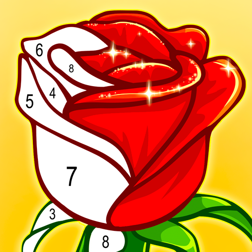 ColorPlanet® Paint by Number, Free Puzzle Games