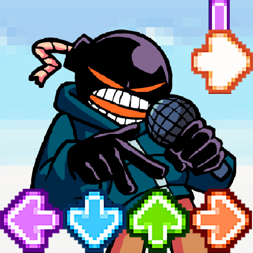 Music Fighter Whitty FNF Game