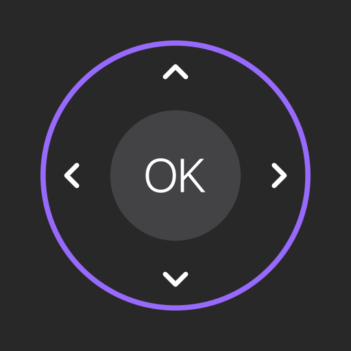 Remote Control for TCL, Roku and Screen Mirroring