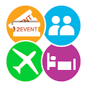2Event-App for Events, networking and travelmates