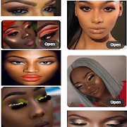 Black Beauty Makeup Tutorials.