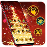 Bling Christmas Tree Theme for Mistletoe
