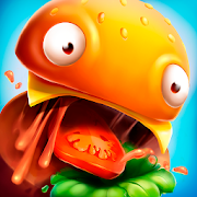 Burger.io: Swallow & Devour Burgers in IO Game