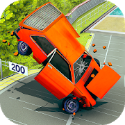 Car Crash Driving Simulator: Beam Car Jump Arena