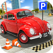 Classic Car Parking Real Driving Test