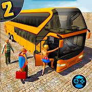 Coach Bus Hill Road Simulator- Free Euro Bus Games