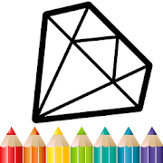 Diamond Coloring and Drawing