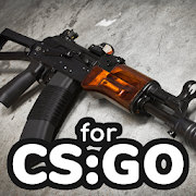 How to draw weapons step by step for CS:GO