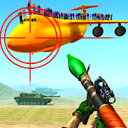 Jet War Fighter Airplane Shooting