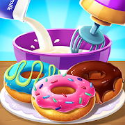 🍩🍩Make Donut - Kids Cooking Game