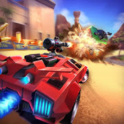 Overload Twisted Action: PvP Cars Racing Shooter
