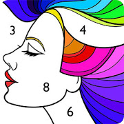 Paint by Number: Free Coloring Book