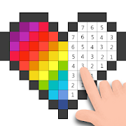 Pixel - Color by Number & Pixel Art Coloring Pages