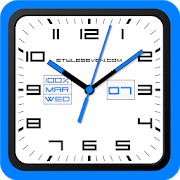 Square Analog Clock-7
