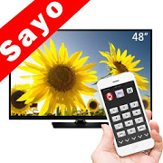TV Remote Control for Sanyo TV