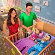 Virtual Twins Baby Happy Mother Family Simulator