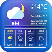 weather clock and widget for android